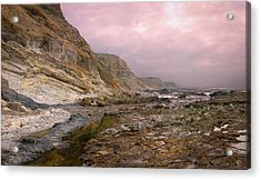 Pv Cliffs Acrylic Print by Kevin Bergen