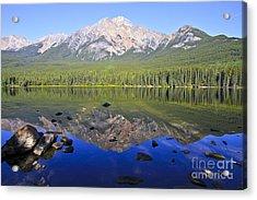 Pyramid Lake Reflection Acrylic Print