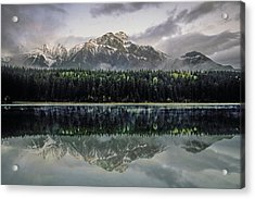 Acrylic Print featuring the photograph Pyramid Mountain 2006 02 by Jim Dollar