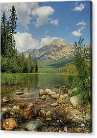 Pyramid Mountain Acrylic Print