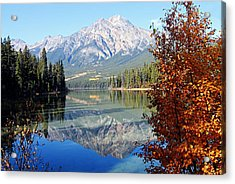 Pyramid Mountain Reflection 3 Acrylic Print
