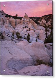 Acrylic Print featuring the photograph Pyramids  by Dustin LeFevre