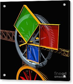 Pythagorean Machine Acrylic Print