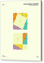 Pythagorean Theorem Acrylic Print