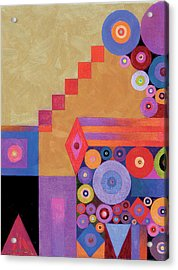 Pythagorus' Abstract I Acrylic Print by Bob Coonts