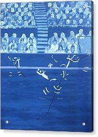 Q N Acrylic Print by Ken Yackel