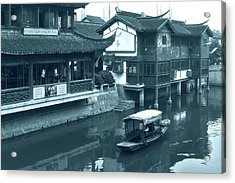 Qibao Ancient Town - A Peek Into The Past Of Shanghai Acrylic Print