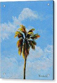 Quad Palms 3 Of 4 Acrylic Print by Beth Maddox