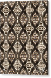Quadrax Acrylic Print by John Edwards