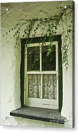Quaint Window In Ireland Acrylic Print