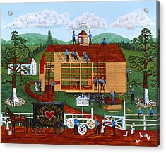 Quakers Acres Acrylic Print by Joseph Holodook