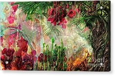 Acrylic Print featuring the digital art Qualia's Jungle by Russell Kightley