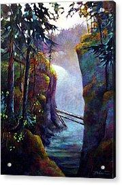 Qualicum Falls Acrylic Print