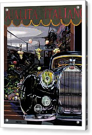 Qualita Italiano Acrylic Print by Mike Hill
