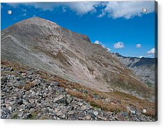 Acrylic Print featuring the photograph Quandary Peak by Cascade Colors