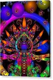 Acrylic Print featuring the digital art Quantum Physics by Robert Orinski