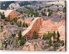 Quarry At Red Rock Canyon Colorado Springs Acrylic Print
