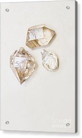 Acrylic Print featuring the photograph Quartz Crystals by Jorgo Photography - Wall Art Gallery