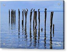 Quay Rest Acrylic Print