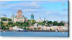 Acrylic Print featuring the photograph Quebec City Skyline by Songquan Deng