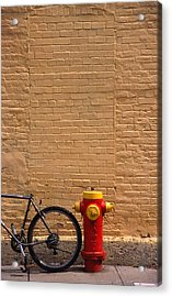 Quebec Hydrant Acrylic Print by Art Ferrier