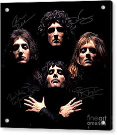 Queen Art Acrylic Print by Kjc