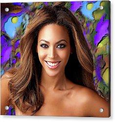 Queen Beyonce Acrylic Print