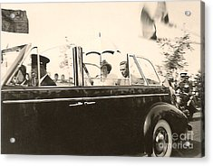 Queen Elizabeth And King George Vi Acrylic Print