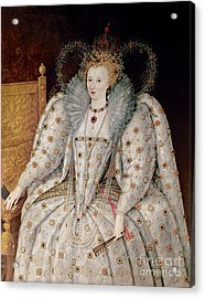 Queen Elizabeth I Of England And Ireland Acrylic Print