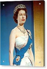 Queen Elizabeth II, Coronation Acrylic Print