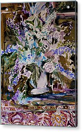 Queen For A Day Acrylic Print by Mindy Newman