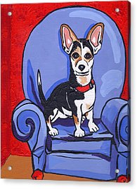 Queen Lucy Acrylic Print by Laura Brightwood