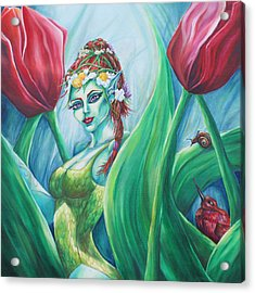 Queen Maeve's Realm Acrylic Print by Lori Kuhn