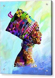 Queen Nefertiti Acrylic Print