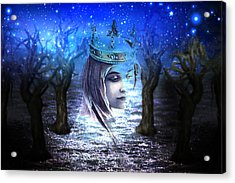 Queen Of Air And Darkness Acrylic Print by Lisa Yount