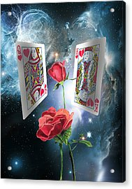 Queen Of Broken Hearts Acrylic Print