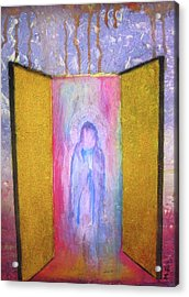 Queen Of Heaven Acrylic Print by Mary Ellen Frazee