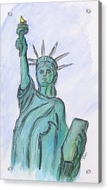 Queen Of Liberty Acrylic Print