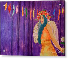 Queen Of May Acrylic Print