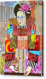 Queen Of Spades Custom Order Acrylic Print