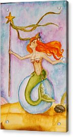 Queen Of Staves, Milandra Acrylic Print