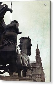 Queen Of The British Iceni Acrylic Print by JAMART Photography