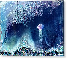 Queen Of The Starry Reef Acrylic Print by Lee Pantas