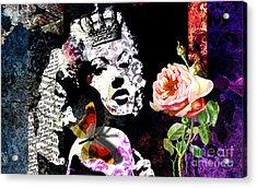 Queen Acrylic Print by Ramneek Narang