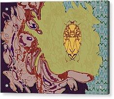 Queen Scarab Acrylic Print