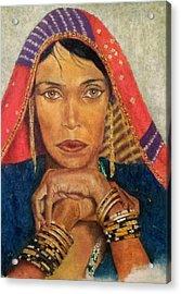 Queen Tahpenes  Acrylic Print