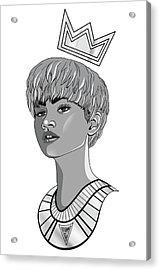 Queen Zendaya Acrylic Print by Kenal Louis