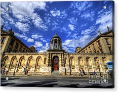 Queens College - Oxford Acrylic Print