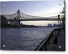 Queensboro Bridge - Manhattan Acrylic Print