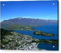 Queenstown New Zealand Acrylic Print